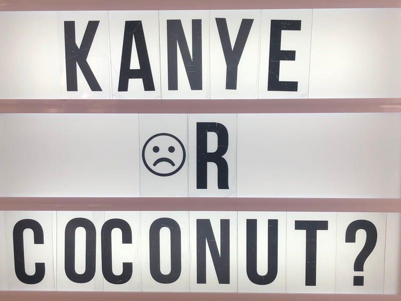 Illustration for article titled Kanye☹r Coconut?