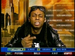 Illustration for article titled Screencap Classix: Lil Wayne Devastates Jay Mariotti On ATH