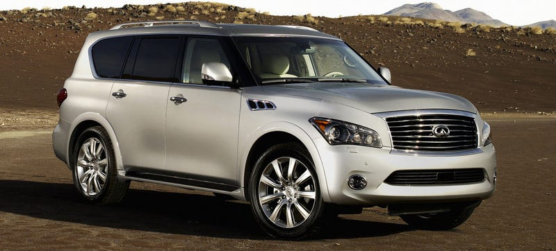 Illustration for article titled I Really Hope The 2015 Infiniti QX80 Is Going To Look Less Offensive