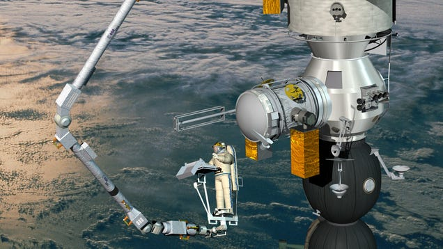 An Inspector Gadget-Like Robotic Arm Is Headed to the International Space Station