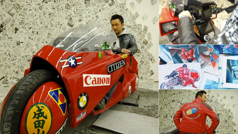 Illustration for article titled Hands On with the Official Akira Bike