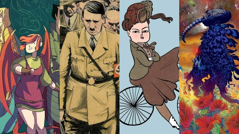Our favorite graphic novels, one-shots, and archives of 2015