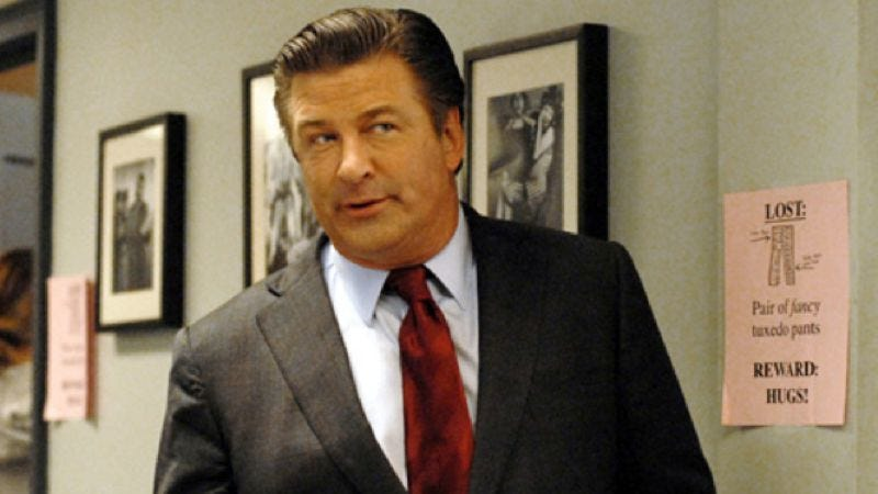 Illustration for article titled Alec Baldwin backs out of backing out of 30 Rock, signs on for another season