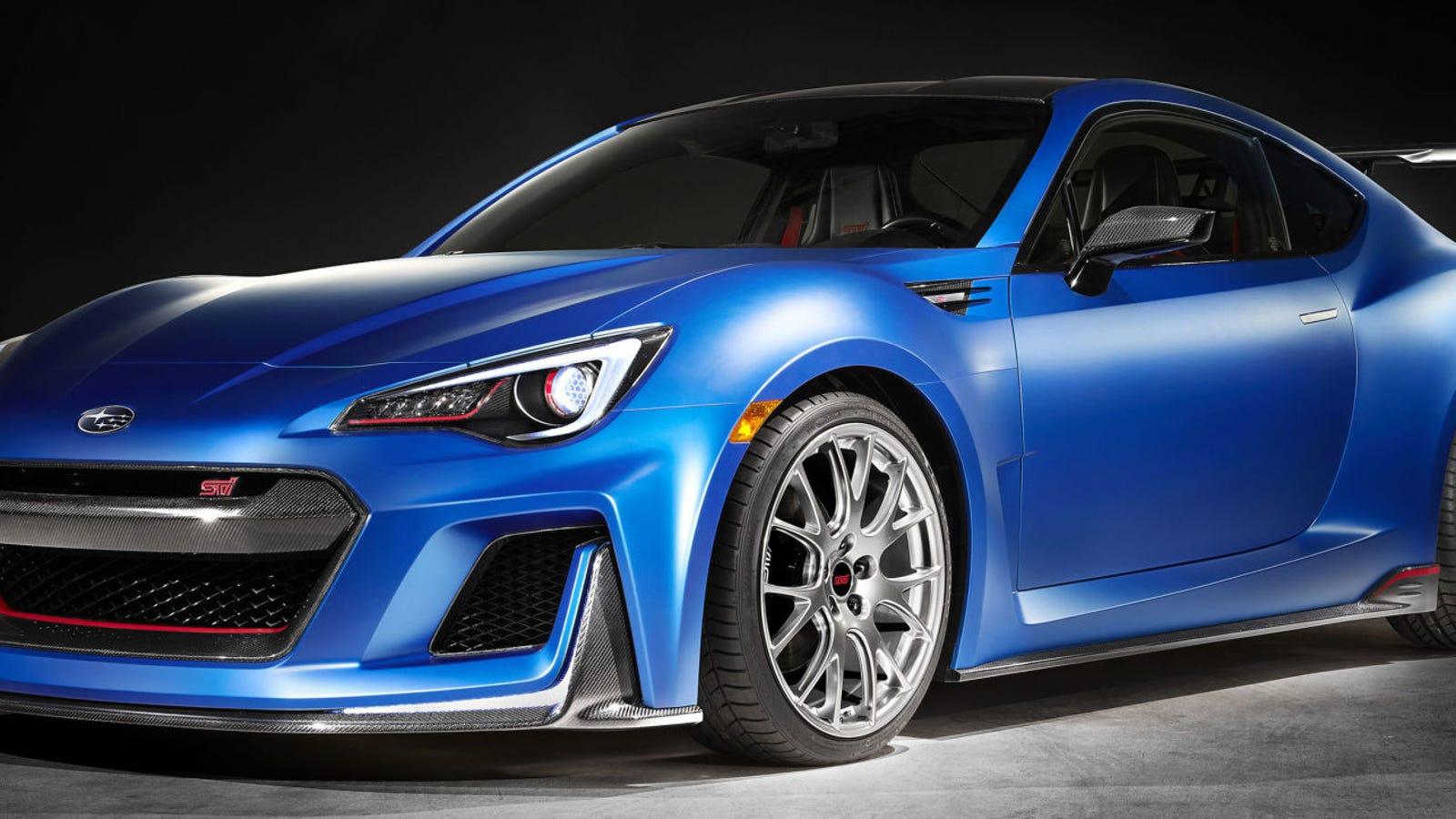 The Subaru BRZ STI Performance Concept Nears Perfection ...