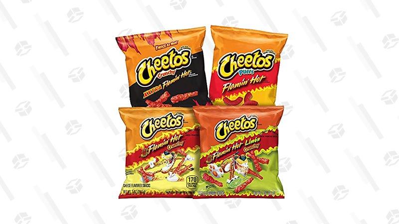 Flamin' Hot Cheetos Variety Pack, 40 Bags | $12 | Amazon | Clip the $3 coupon