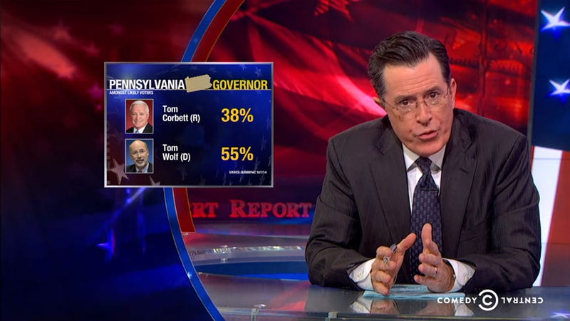 Illustration for article titled Colbert Edits Black People Into His Audience, Just Like Politicians