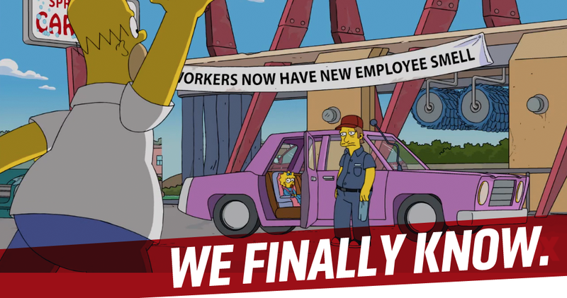 Illustration for article titled The Simpsons Finally Reveals What Kind Of Car Homer Drives