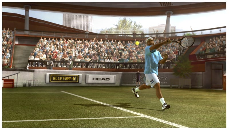 Illustration for article titled Career Mode, New Controls On Serve For Top Spin 4