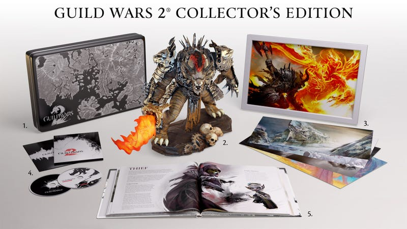 Illustration for article titled The $150 Guild Wars 2 Collector's Edition Comes with All This Plus a Three-Day Head Start