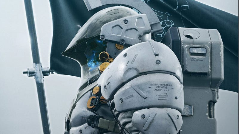 Illustration for article titled Kojima Productions' Logo Gets a Body