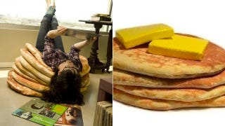 Illustration for article titled Buttered Pancake Floor Pillows Are My Next Furniture Choice