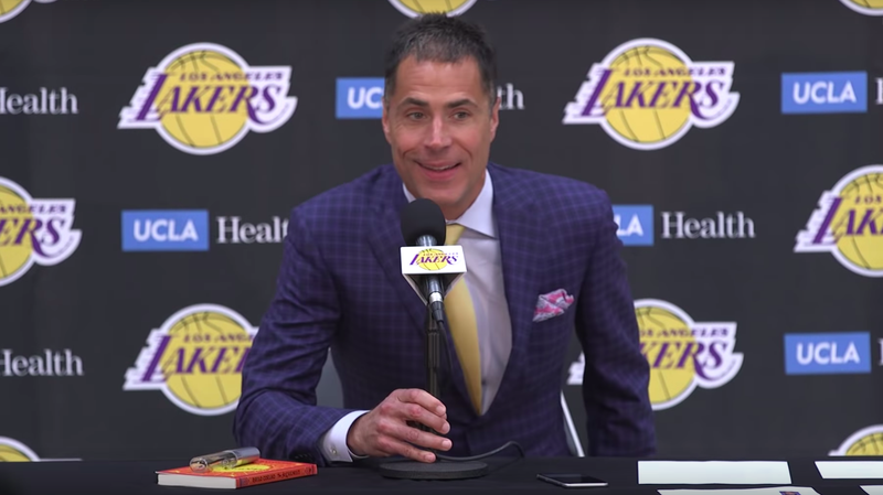 0d5f3f95bc01 Illustration for article titled Lakers GM  We  39 ll Beat The Warriors  Because