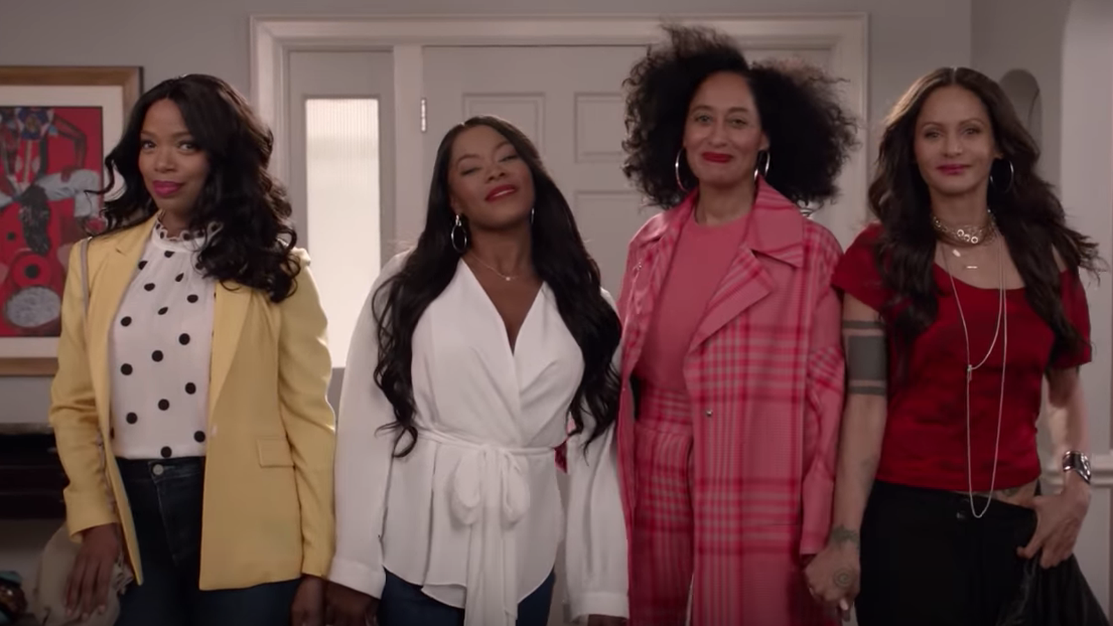 Black-ish: Girlfriends Reunite to Talk Intersectional Feminism. Also, a Girlfriends Character Was Originally White?
