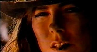 Illustration for article titled Kathryn Bigelow Is A Bad-Ass Cowgirl In James Cameron's 1988 Music Video