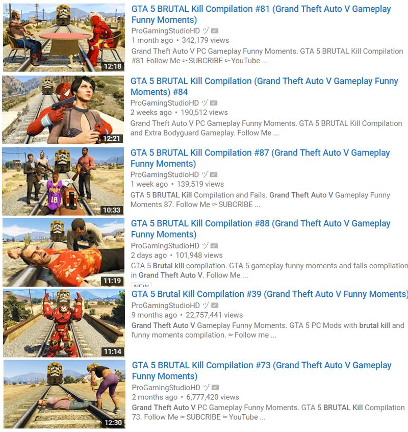 GTA V Has A Big YouTube Scene Dedicated To The Most Brutal Kills