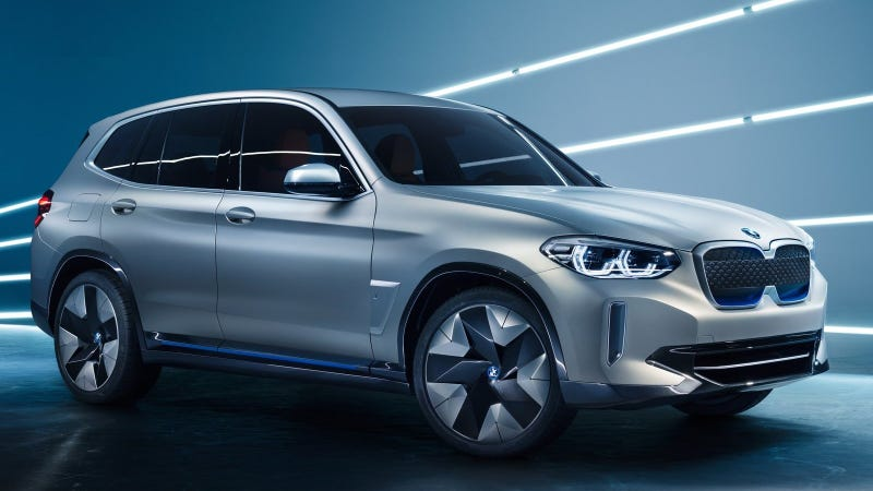 Illustration for article titled The BMW iX3 Concept: You'd Almost Never Know It's All-Electric