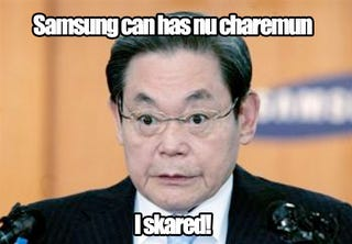 Illustration for article titled Samsung Chairman Resigns Amidst Scandal Storm
