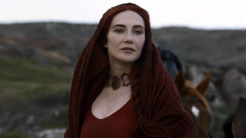Illustration for article titled Game Of Thrones' Melisandre will play Leni Riefenstahl in a Jesse Owens biopic