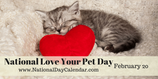 Illustration for article titled NATIONAL LOVE YOUR PET DAY – NATIONAL CHERRY PIE DAY