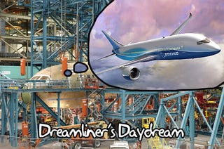Illustration for article titled The Webcast of the Boeing Dreamliner's First Flight Starts Now