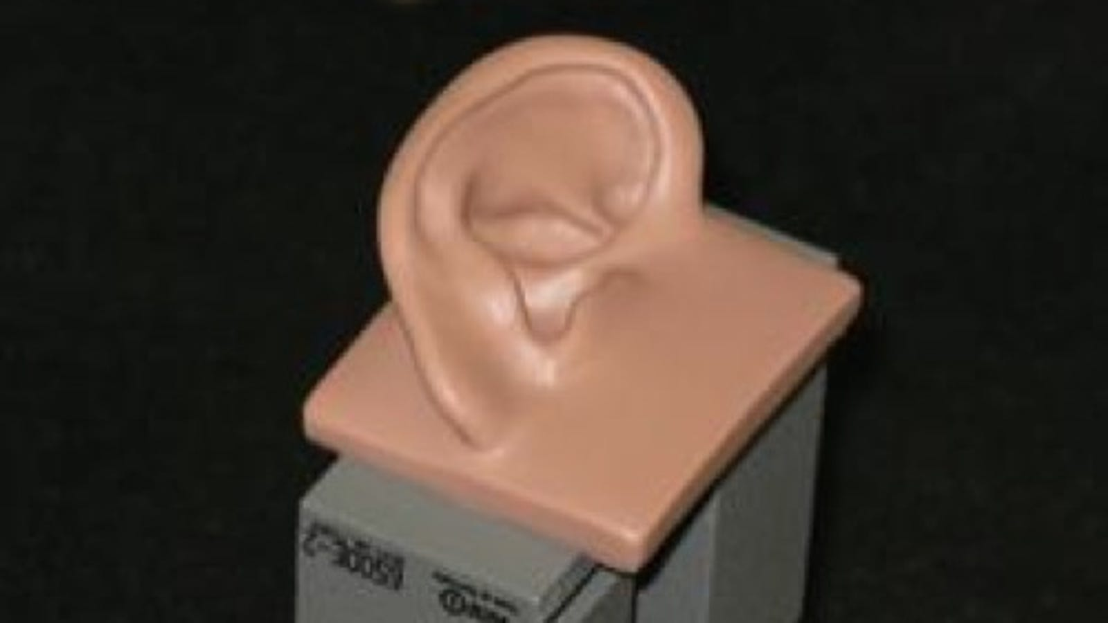 earbud jack plug - Researchers Claim They've Created the Perfect 3D Human Ear Model