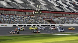 Illustration for article titled THIS JUST IN NASCAR IS AWESOME