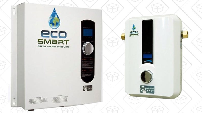 EcoSmart ECO 11 Electric Tankless Water | $167 | AmazonEcoSmart ECO 27 Electric Tankless Water | $335 | Amazon