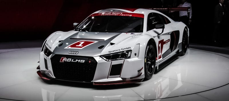 Thatu0027s Close Enough To Audiu0027s Plans, With Their Bonkers R8 LMS GT3 Racecar  Winning Overall At The Nürburgring This Year. Now Theyu0027re Selling 45 Of The  ...