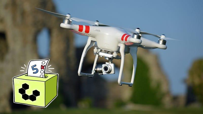 Illustration for article titled Five Best Drones
