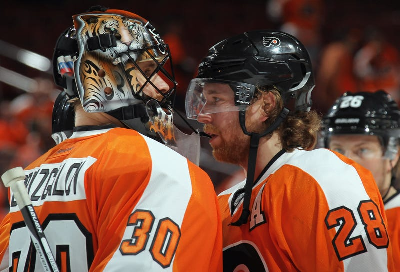 Illustration for article titled Claude Giroux Says Ilya Bryzgalov Will Be The NHL's Best Goalie Next Year