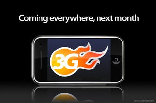 Illustration for article titled iPhone 3G Launch Date Confirmed