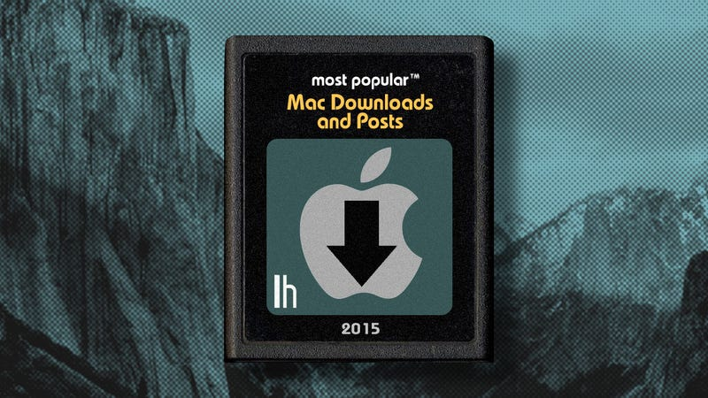 Illustration for article titled Most Popular Mac Downloads and Posts of 2015