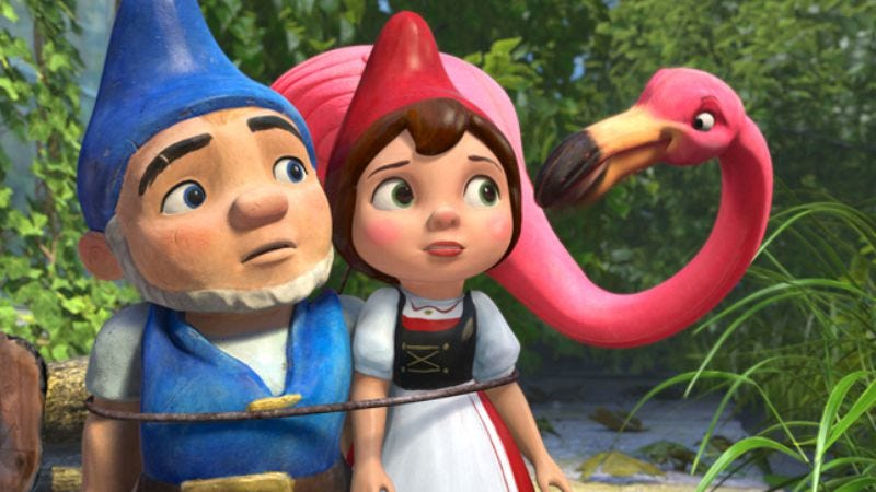 Illustration for article titled Gnomeo & Juliet