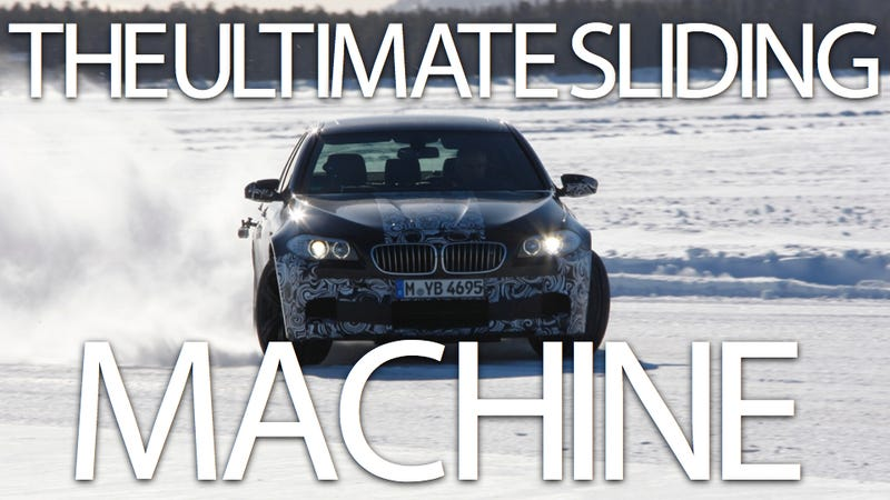 Illustration for article titled 2012 BMW M5: First Drive... on ice