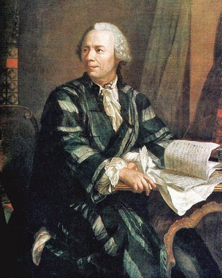Illustration for article titled Happy Birthday, Leonhard Euler