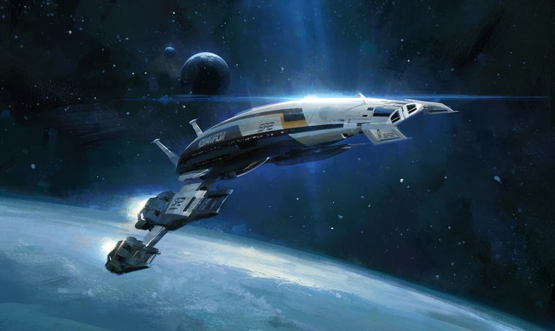 Illustration for article titled The Normandy is my Favorite Ship in the Galaxy