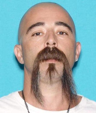 David Machado, who, according to authorities, is  suspected of shooting and killing a Stanislaus County, Calif., sheriff's deputy on Nov. 13, 2016, outside Hughson, Calif.Twitter