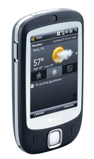 Illustration for article titled HTC Touch Adds Finger Groping to Windows Mobile 6