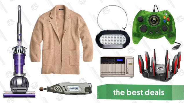 Wednesday s Best Deals: Dyson Ball Animal 2, Networking and Storage Gold Box, J.Crew, and More