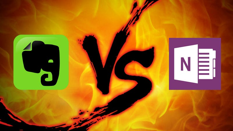Note-Taking Showdown: Evernote vs  OneNote (2016 Edition)