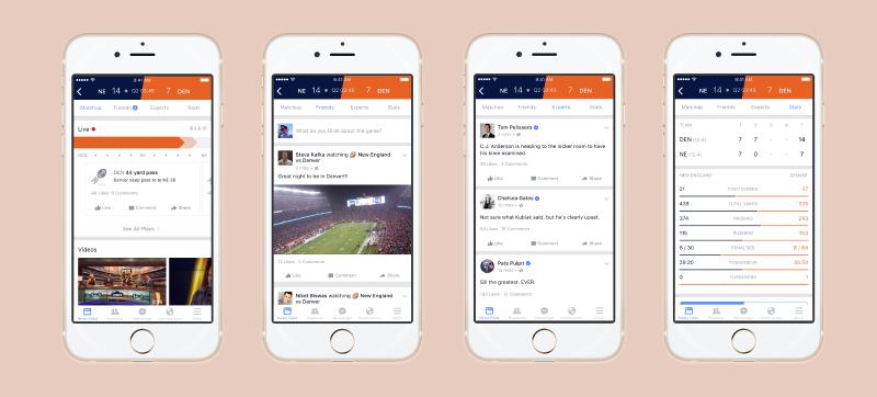 Illustration for article titled La nueva sección de Facebook te muestra los resultados deportivos al instante