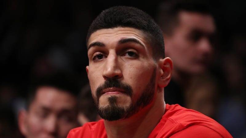 Enes Kanter Claims Turkish Embassy Bullied A Mosque Into Canceling His Basketball Camp