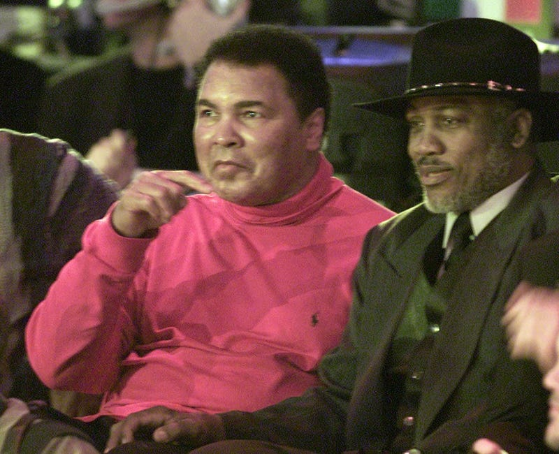 Ali and Frazier found peace outside the ring. (Google)