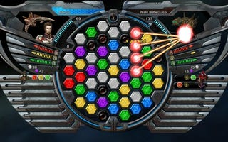 Illustration for article titled Puzzle Quest: Galactrix Hands-On Impressions, New Screens