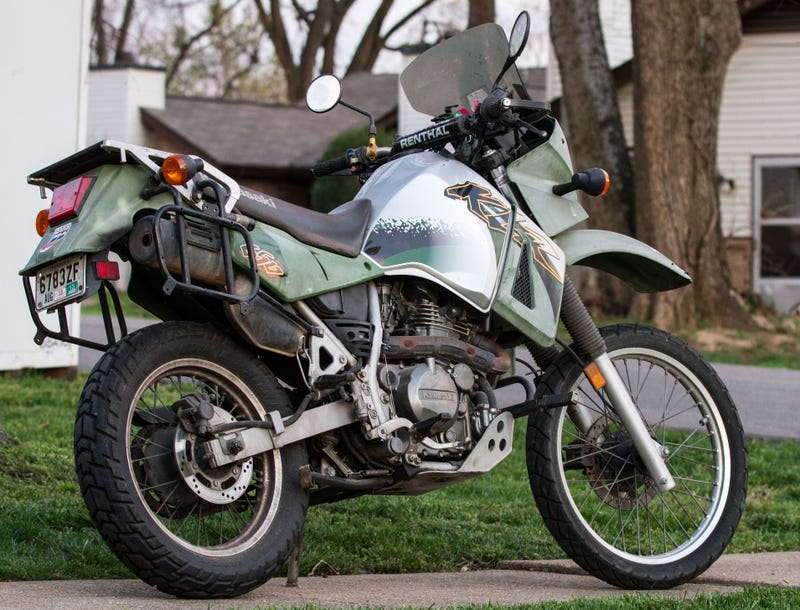 Counterpoint The Kawasaki Klr650 Was My Answer To Everything On Two