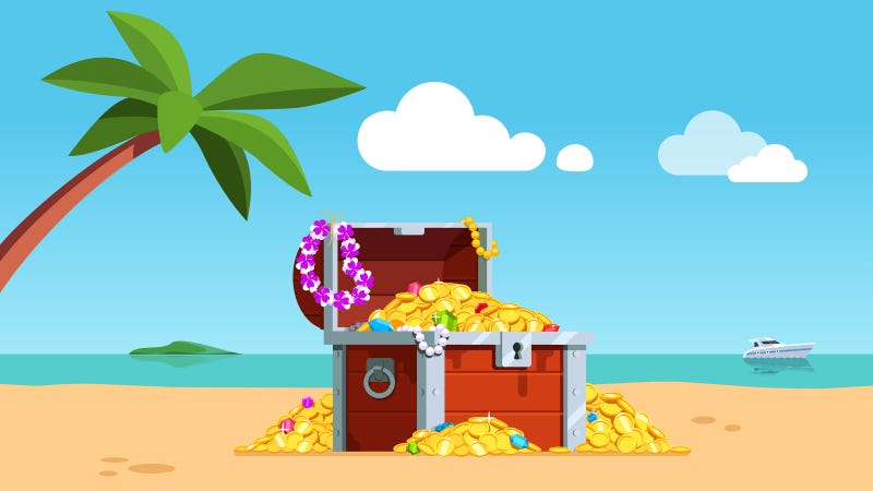 Illustration for article titled Aloha! ClickHole's Treasure Is On Vacation In Hawaii