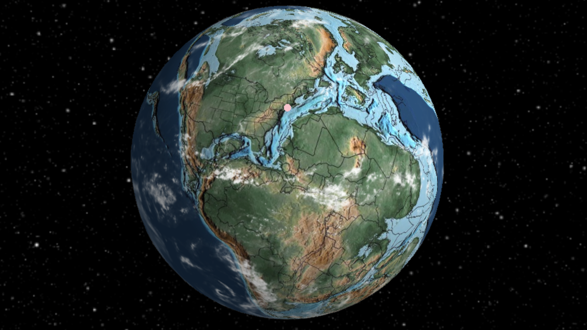 You Can Now Search for Addresses Across 750 Million Years of Earth's Yea World Map on world travel, world wide web, world projection, world globe, world border, world military, world hunger, world flag, world atlas, world war, world culture, world glode, world statistics, world earth, world wallpaper, world most beautiful nature, world records, world of warships, world shipping lanes, world history,