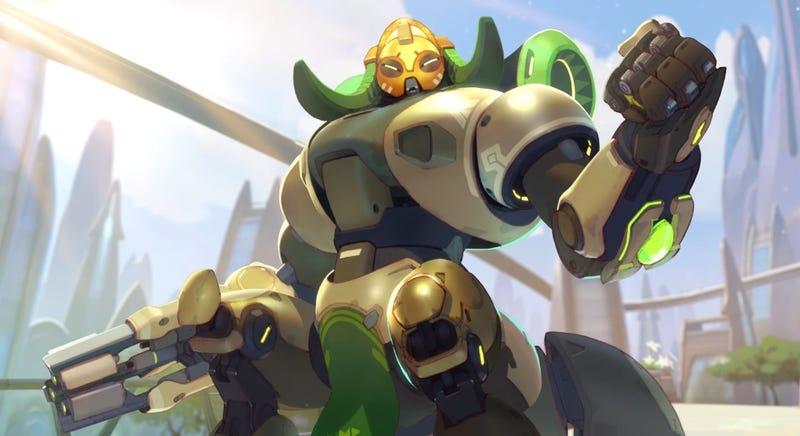 Illustration for article titled El nuevo personaje de Overwatch es una araña robot capaz de aguantar cantidades masivas de daño