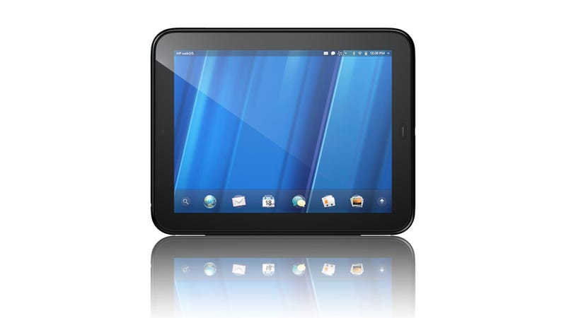 Illustration for article titled HP TouchPad Is Their 10-inch webOS Tablet