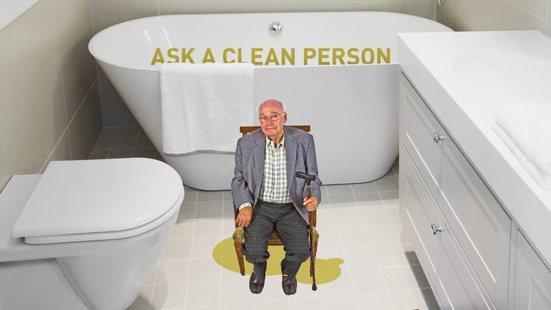 Illustration for article titled Help! How Do I Get That Old-Man-Pee Smell Out Of My Bathroom?